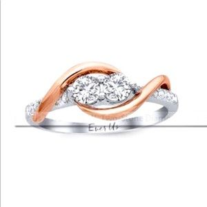 Kay Jewelers Jewelry - 3/4ct white gold EverUs TrueLove Collection ring